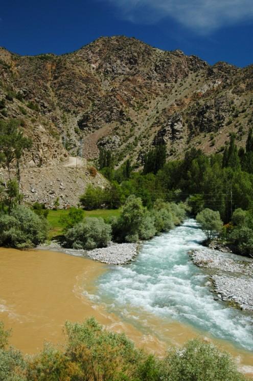 coruh ve aksu nehirleri