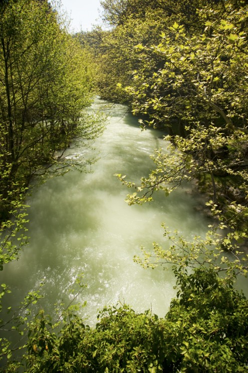 kirpe kanyonu bahar nehir