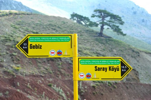 tabela trekking