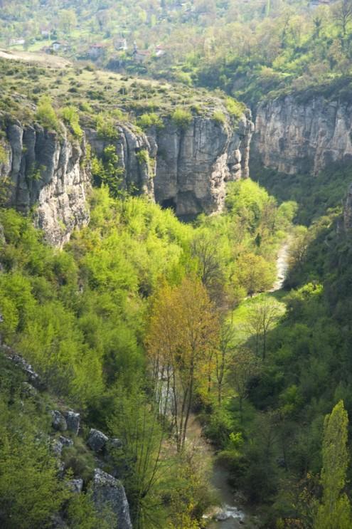 tokatli kanyonu ici