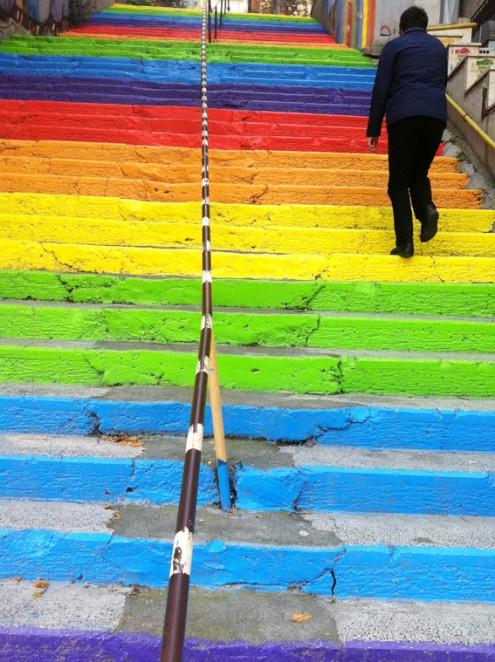 boyali merdivenler