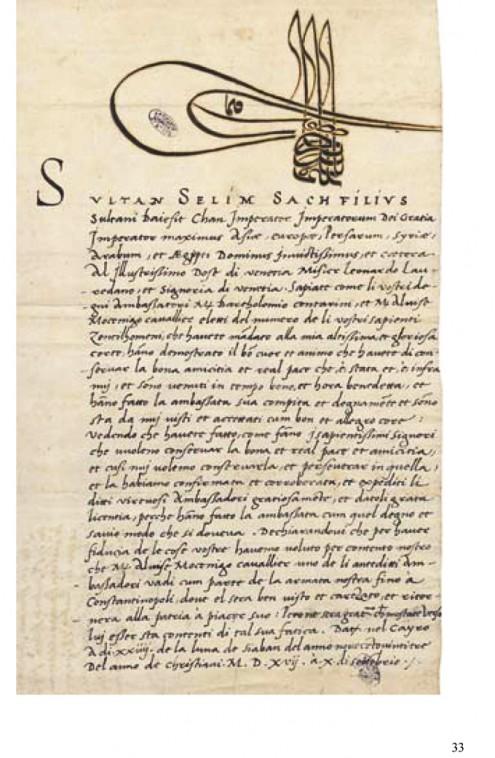 carte del sultano arsiv